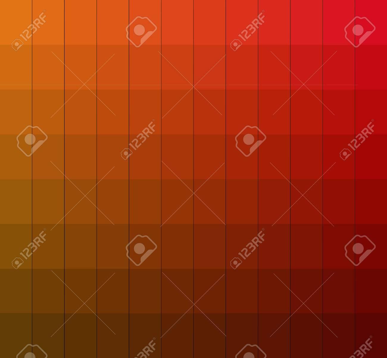 nuances de couleurs boîte de chart.color. vector illustration pantone.