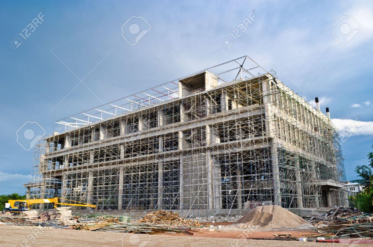 big building construction Stock Photo - 10981876