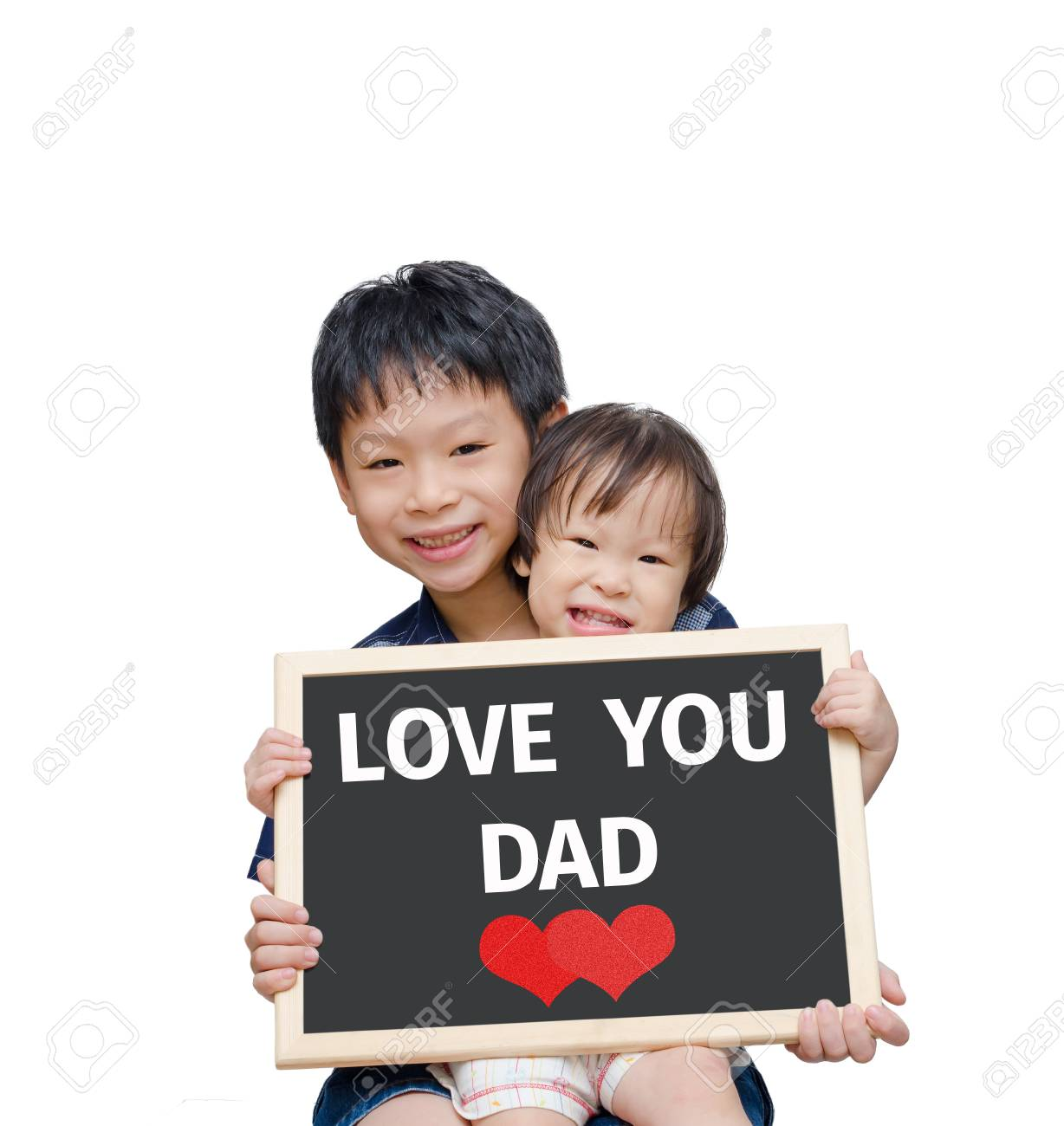 Daddy and asian boy