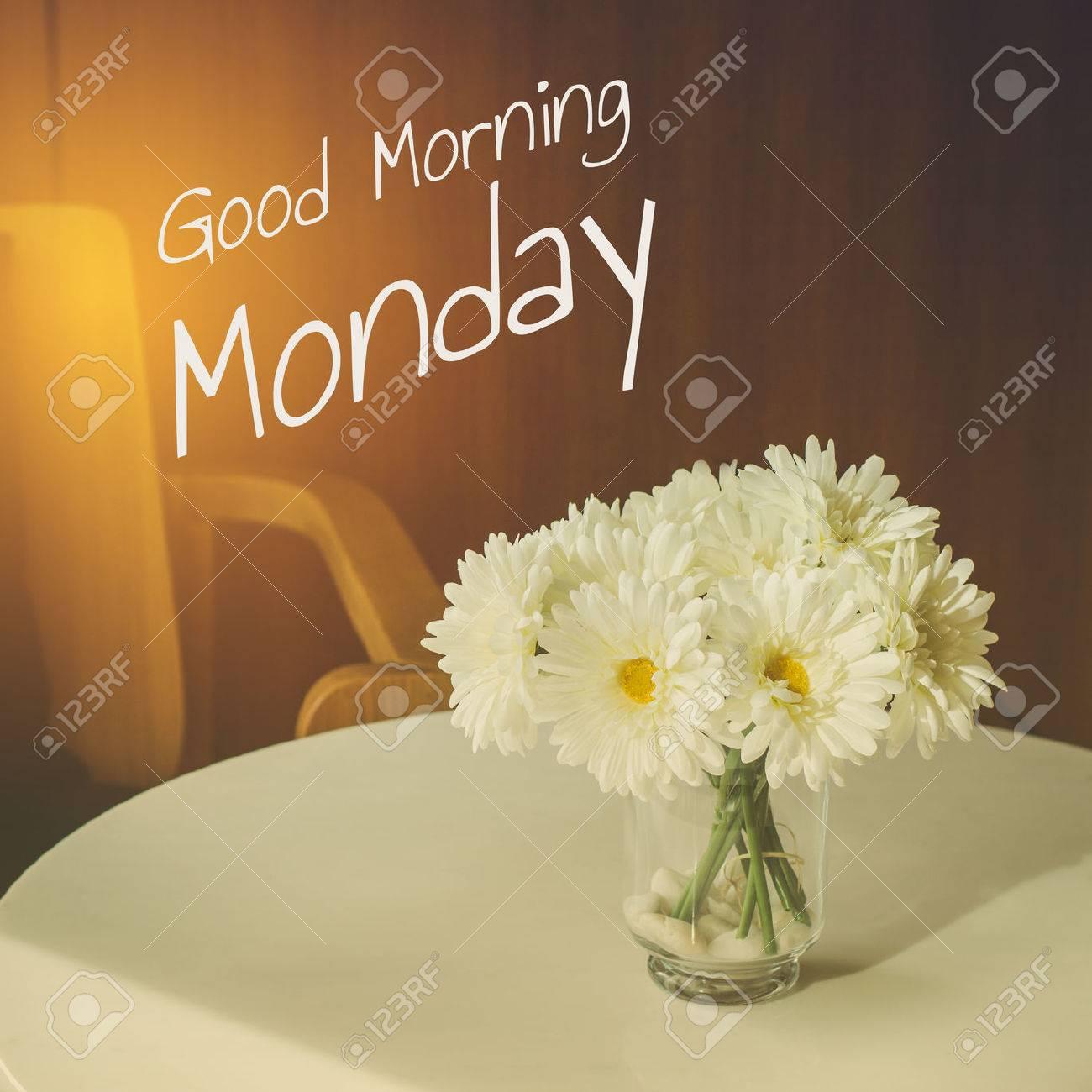 Good Morning Monday Typography Inspiration Motivational Life