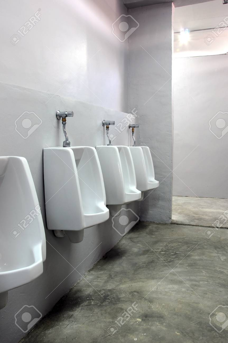 urinals at office Stock Photo - 8793700