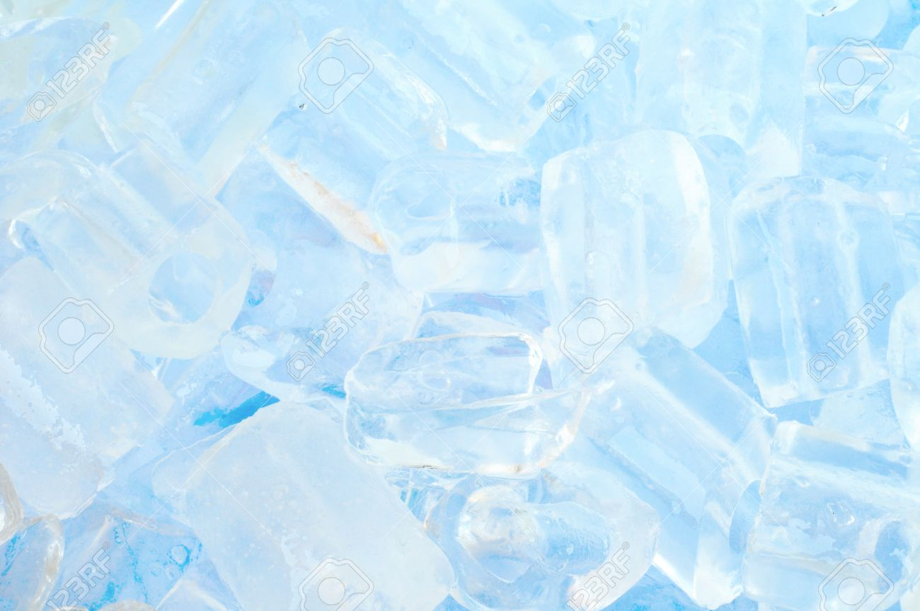 Fresh Cool Ice Cube Background In Blue Light Stock Photo Picture And Royalty Free Image Image 9631214