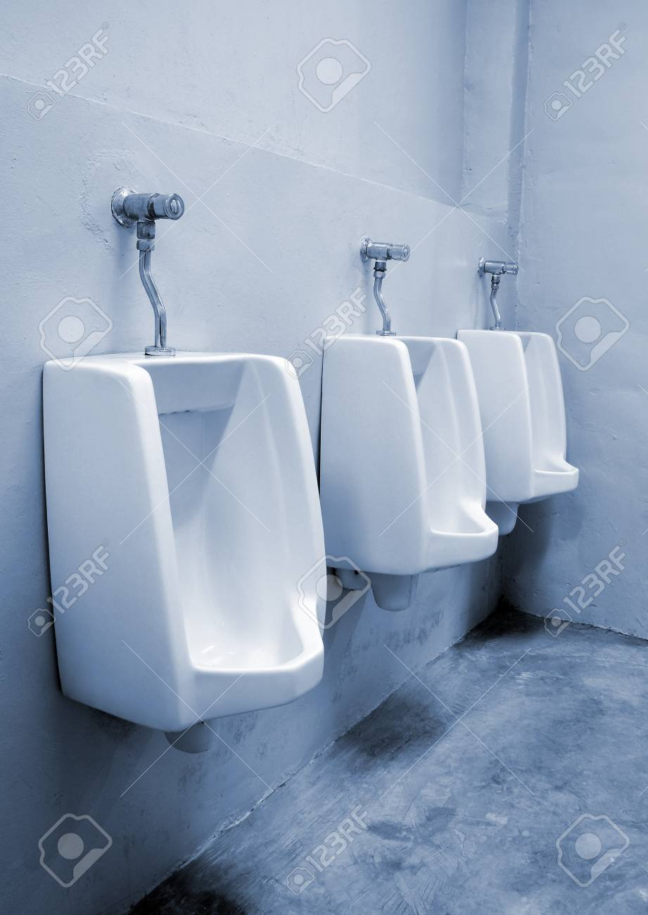 urinals at office Stock Photo - 9671408