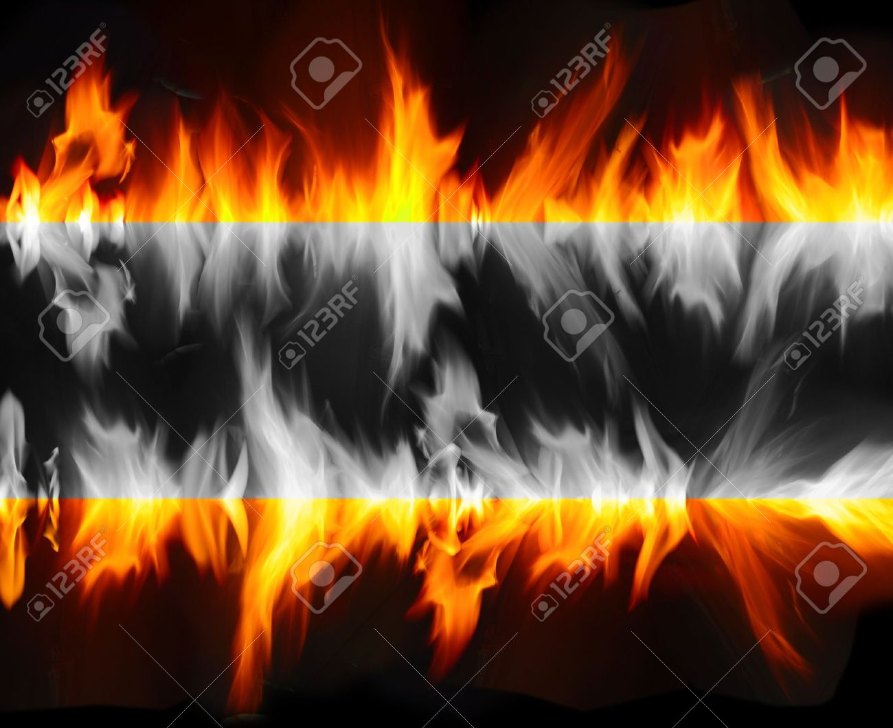 abstract fire flame background Stock Photo - 9748834