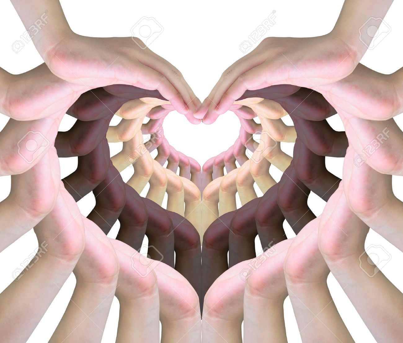 Human hands making a symbol of love stock photo picture and human hands making a symbol of love stock photo 10260196 biocorpaavc Gallery