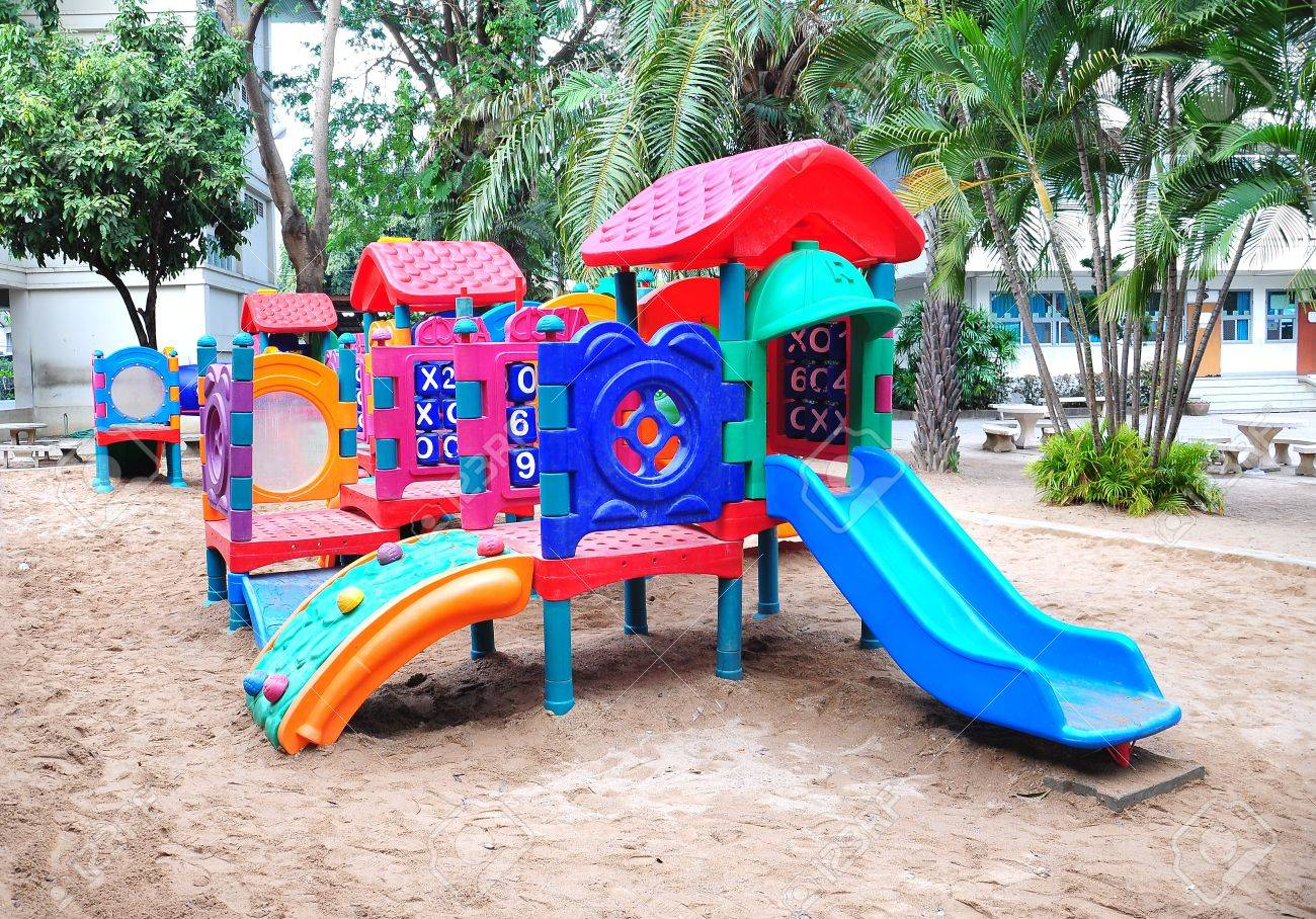 Children playground colorful Stock Photo - 11534053