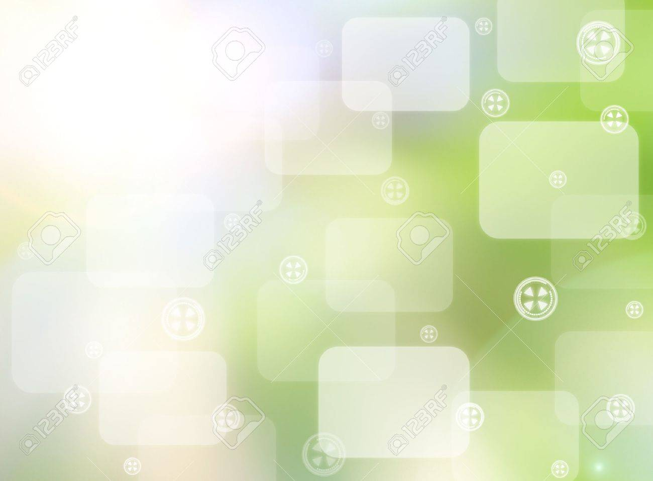 abstract world technology background - 14098478