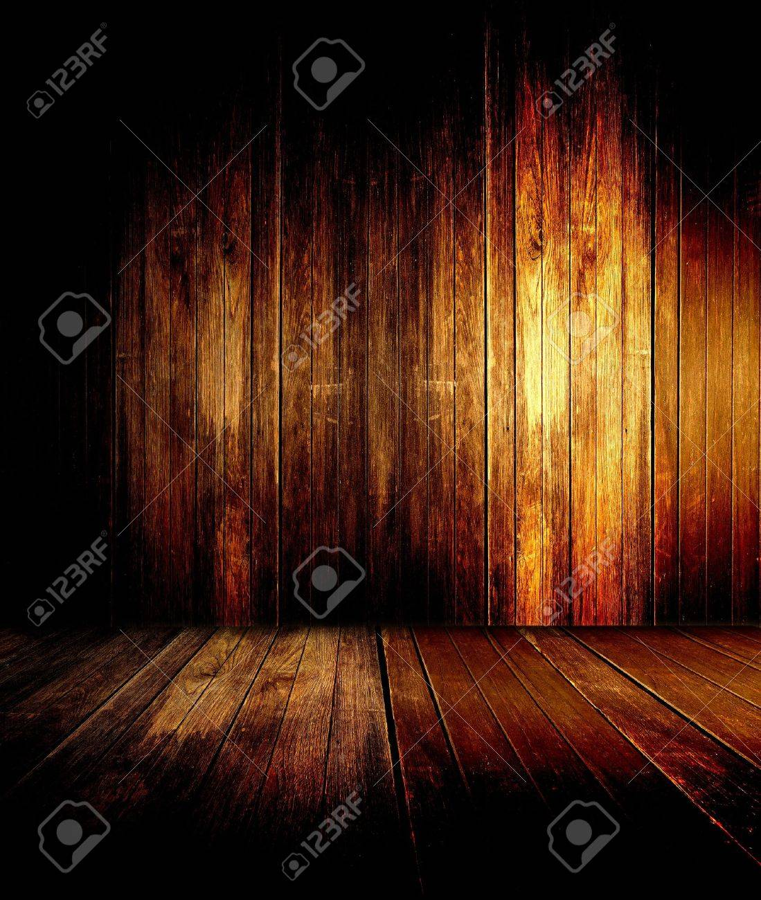 abstract the old wood floor for background - 16398282
