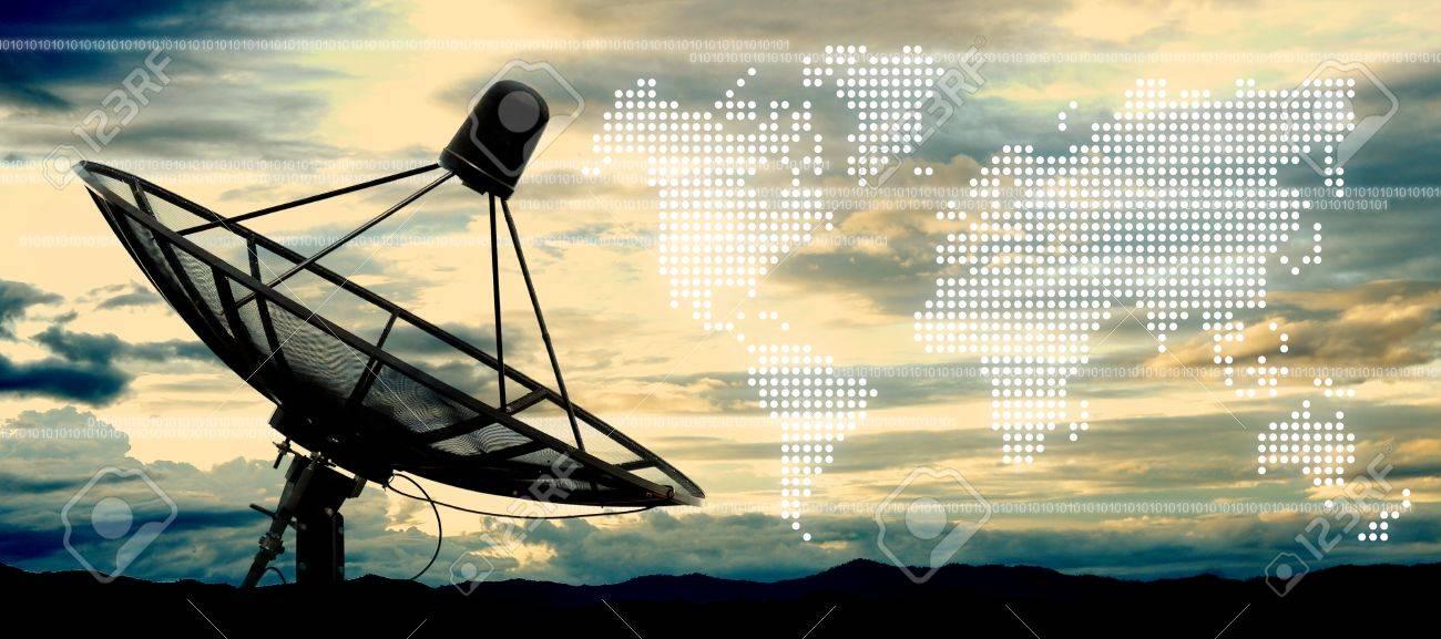 satellite dish antennas - 23086927