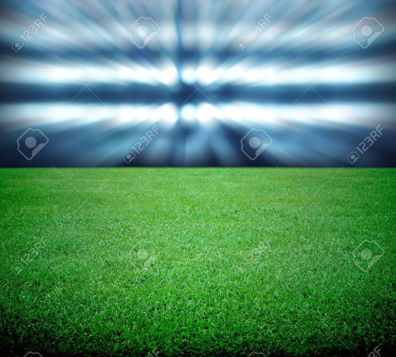soccer field and the bright lights - 24230228