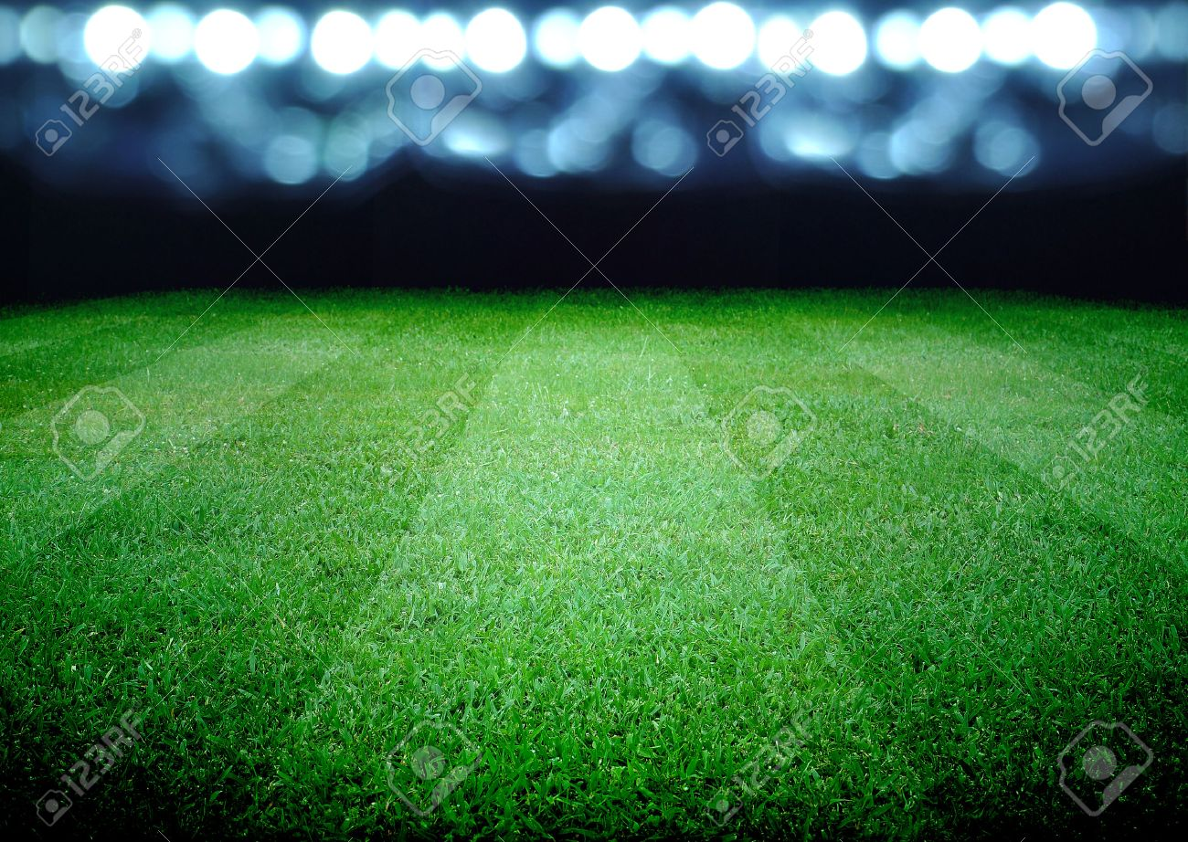 soccer field and the bright lights - 32230831