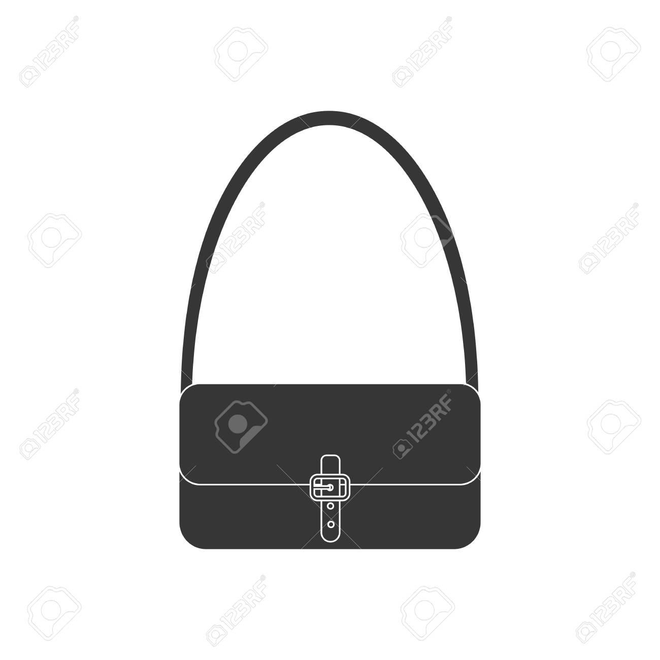 Handbag vector icon. Woman bag. VECTOR ILLUSTRATION Stock Vector - 54879102 c9814e4901