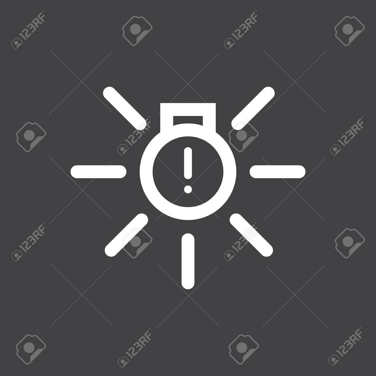 Vector Illustration Of A Sign On The Car Dashboard On A Gray - Car image sign of dashboardcar dashboard icons stock images royaltyfree imagesvectors