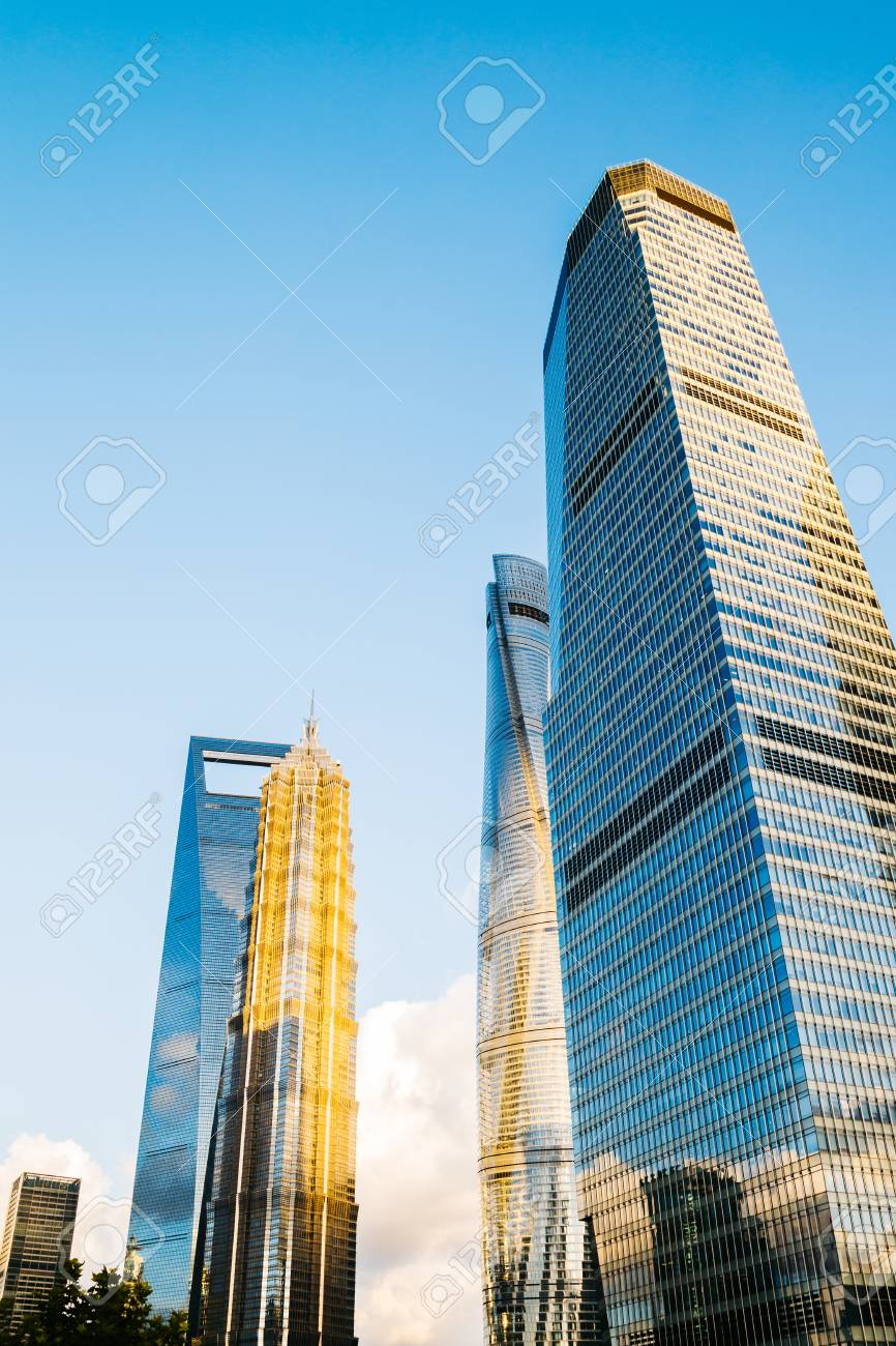 shanghai modern buildings in china stock photo picture and royalty