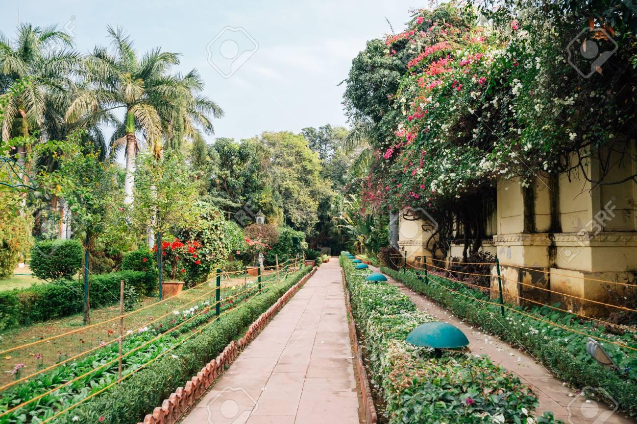 High Quality Saheliyon Ki Bari (Garden Of The Maidens) In Udaipur, India Stock Photo