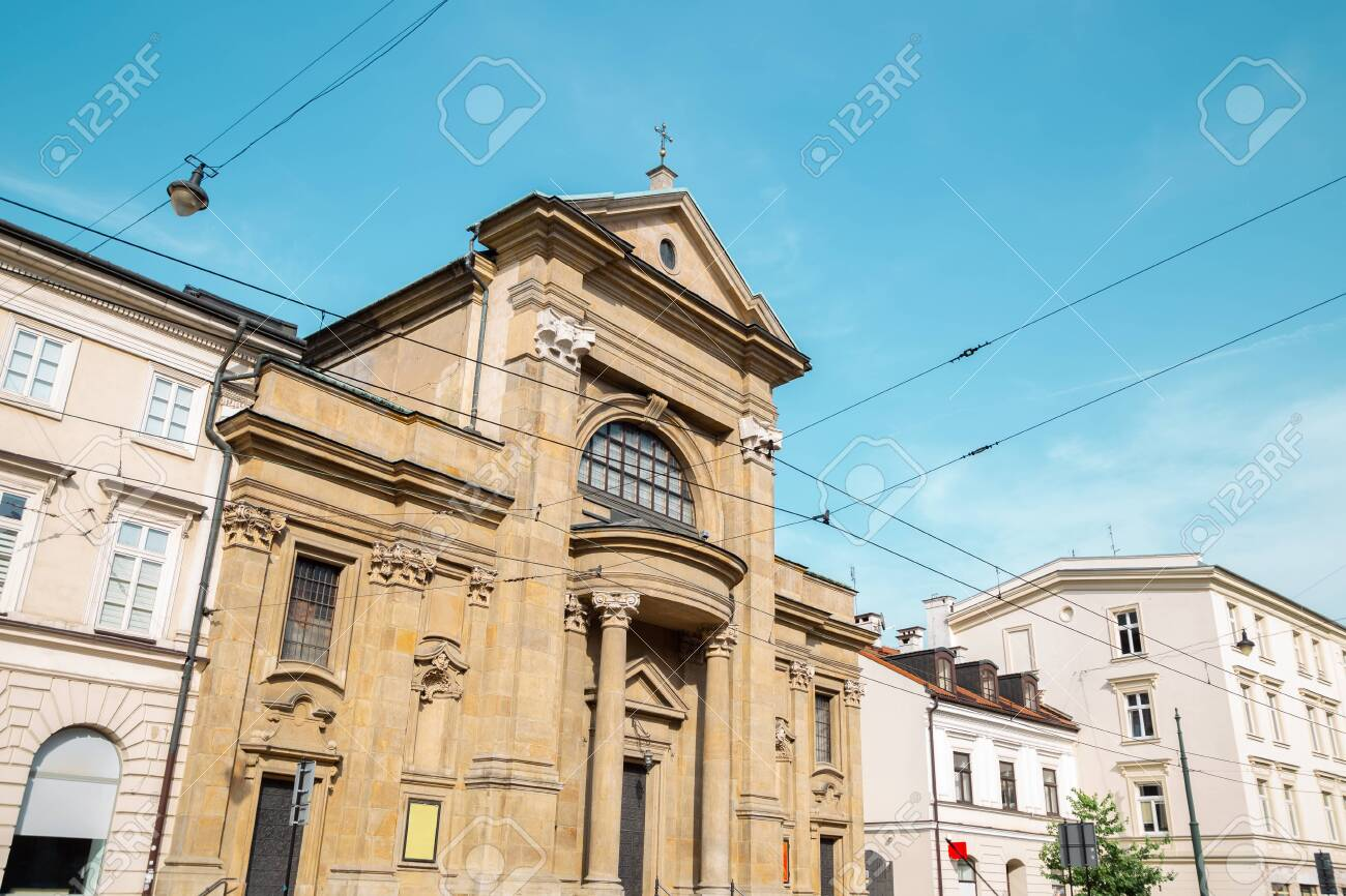 Church of the Conversion of Saint Paul in Krakow, Poland - 137694031