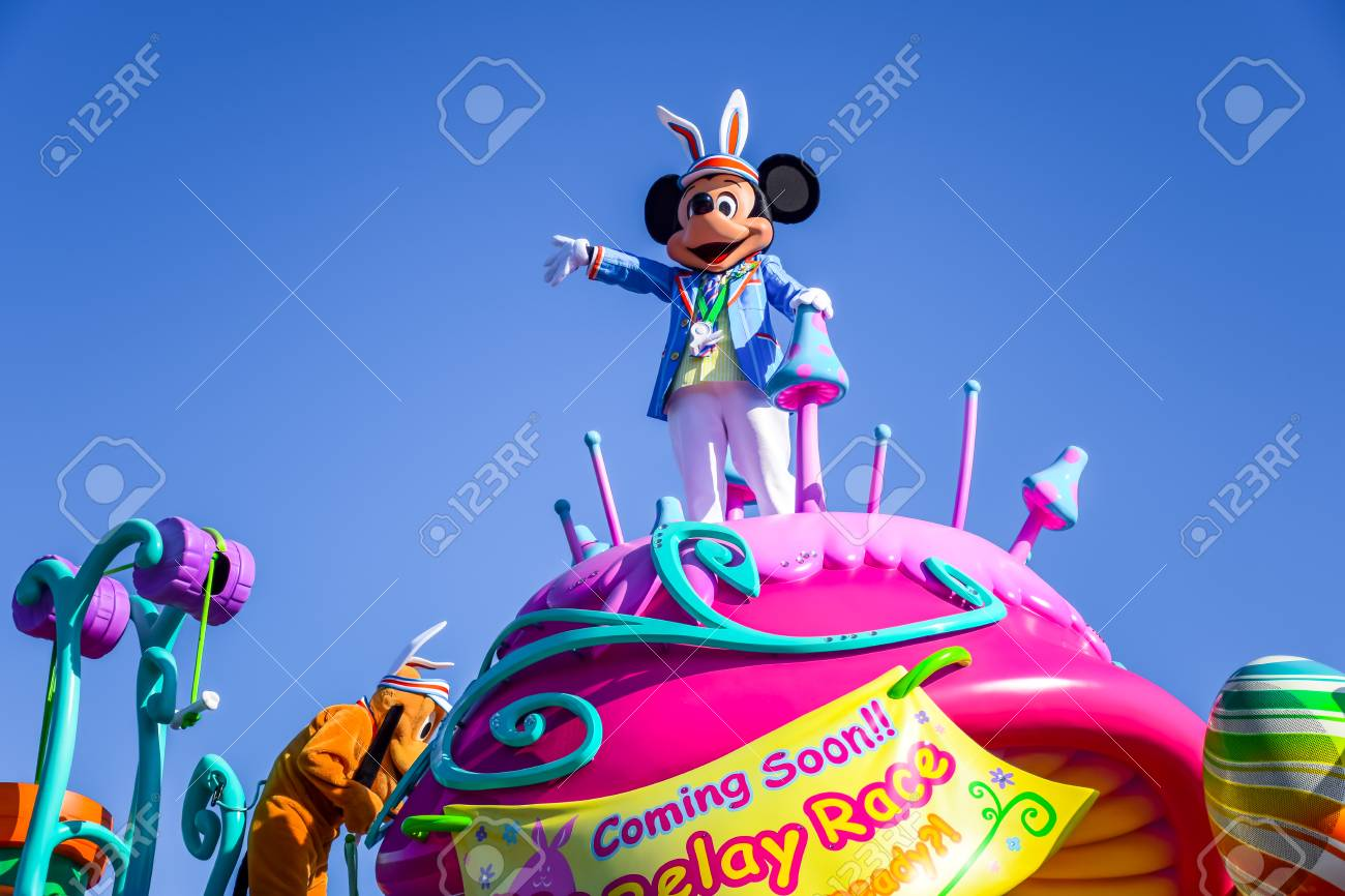 千葉県東京ディズニーランド イースター パレード浦安、日本