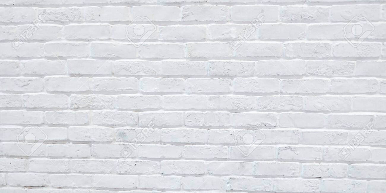 Modern White Brick Wall Texture Background For Wallpaper And Stock Photo Picture And Royalty Free Image Image 136334240