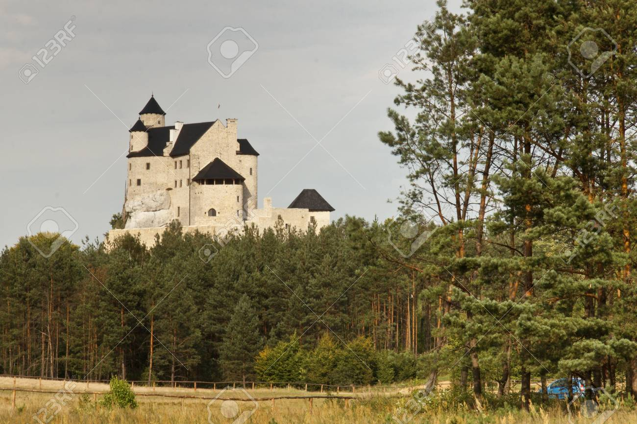 Bobolice Castle in Silesia Region - Poland, Europe  Stock Photo - 15625808