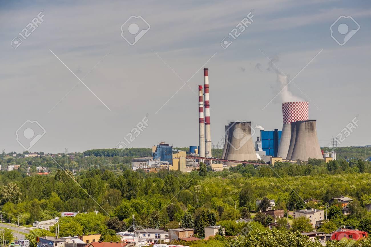 Thermal power station - Lagisza, Poland. - 28698865