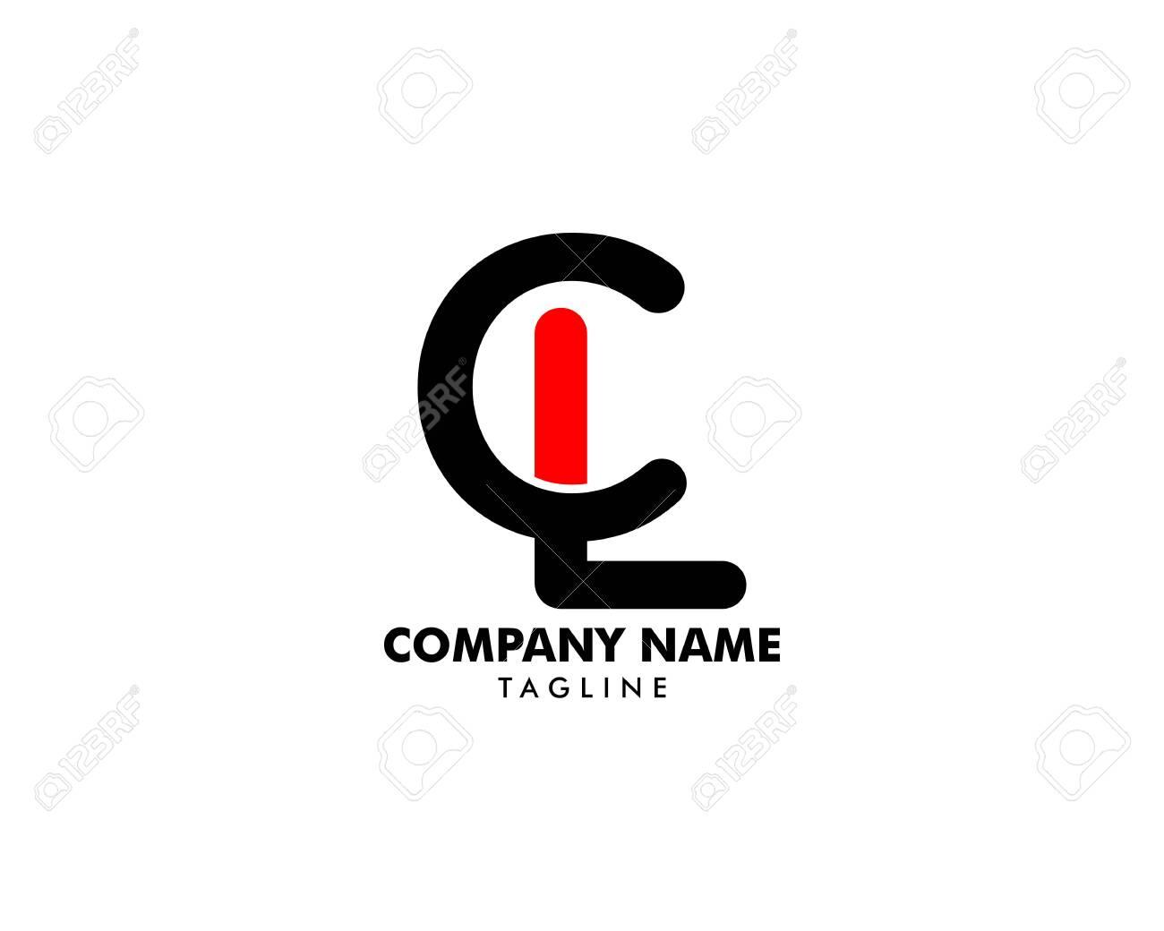 Initial Letter CL Logo Template Design - 126329753