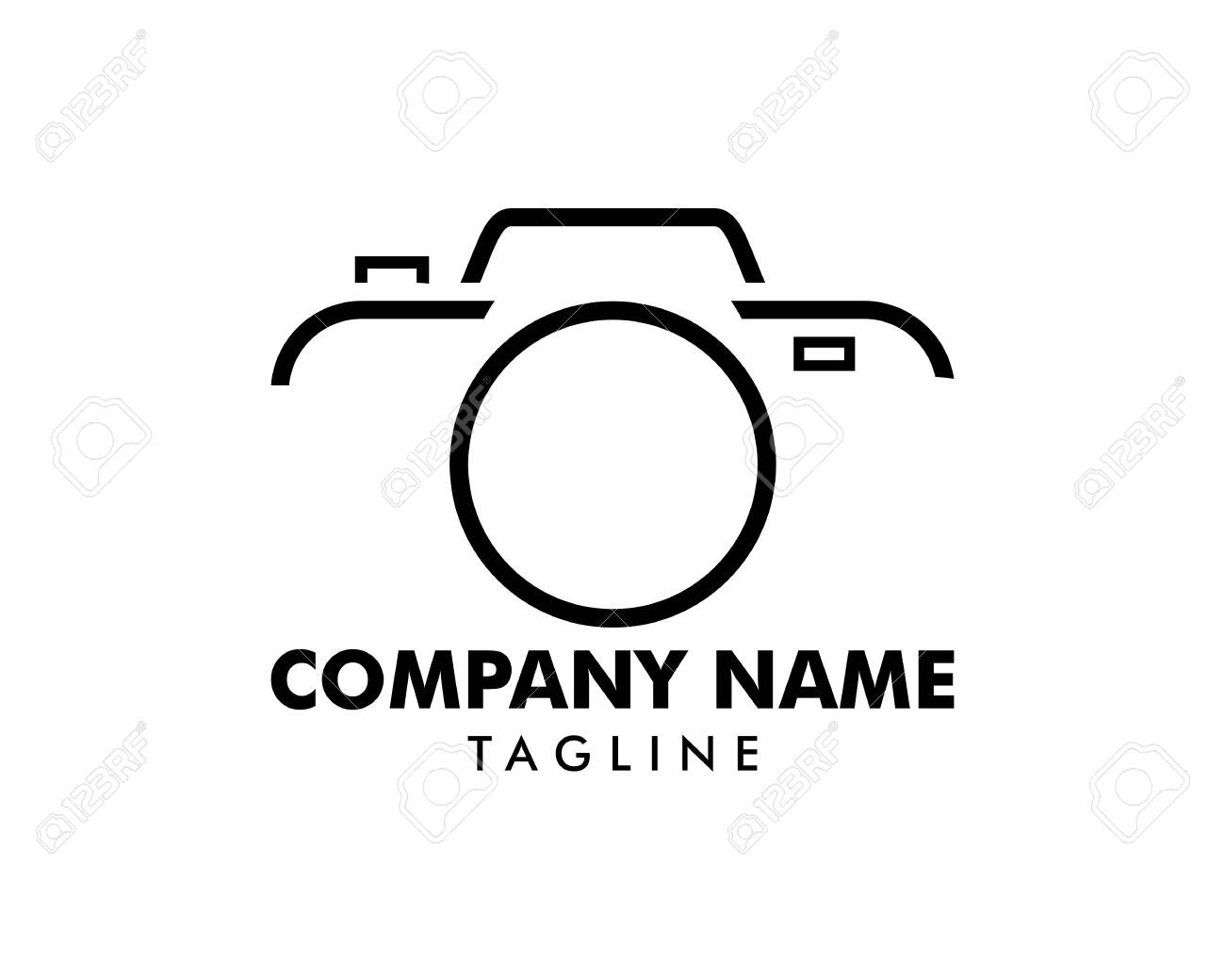 Camera Photography Logo Icon Vector Template Royalty Free Cliparts Vectors And Stock Illustration Image 128052587