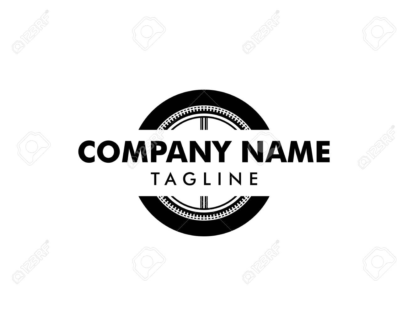 Automotive Tyre Shop Logo Design Inspiration Vector Royalty Free Cliparts Vectors And Stock Illustration Image 131291922