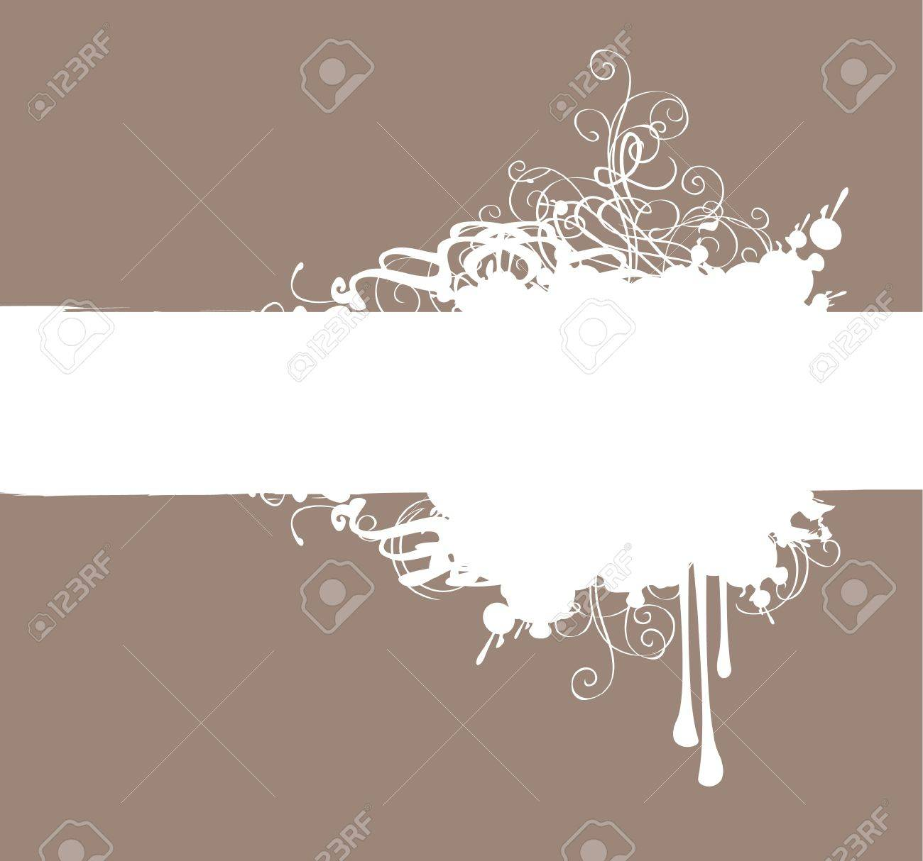 abstract background with spray and drops Stock Vector - 12803184