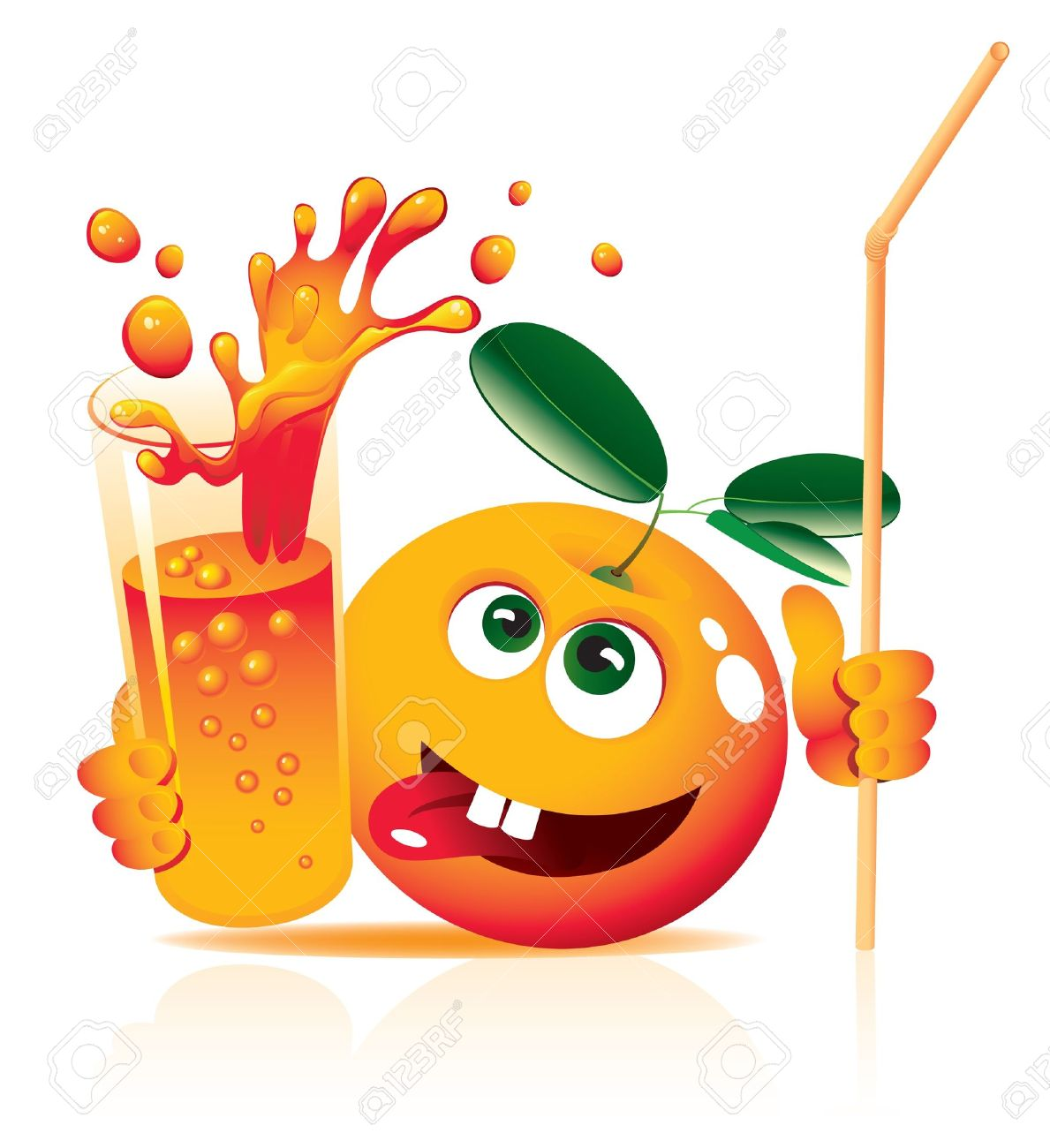 Orange Juice Glass Clipart Juice Glass Lively Orange