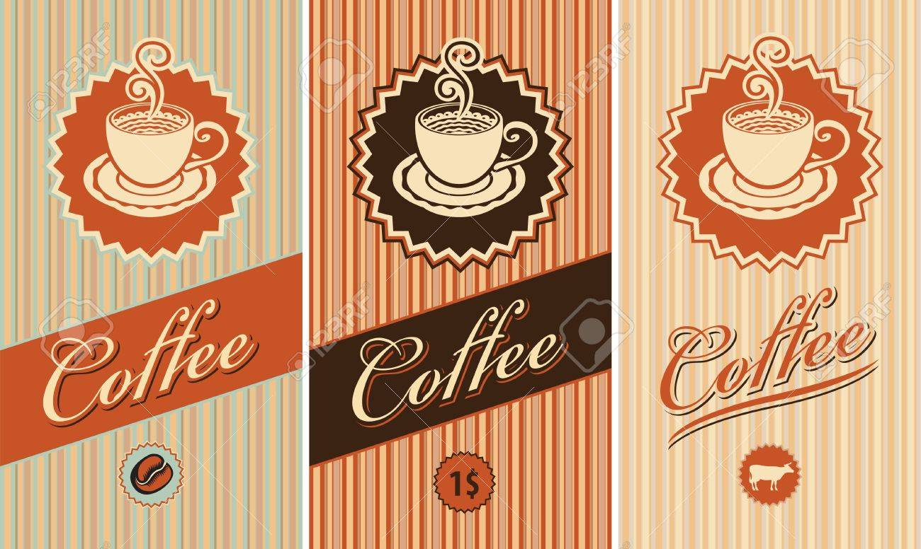 set of three banners for coffee Stock Vector - 14197987