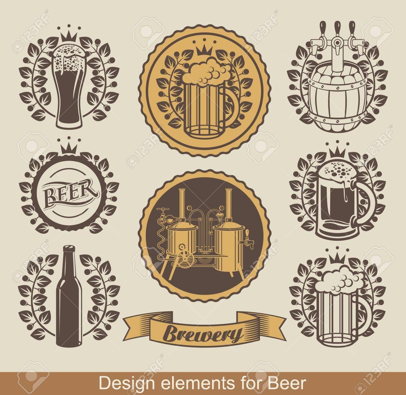 Craft Beer Brewery Beer Brewery Set of Beer