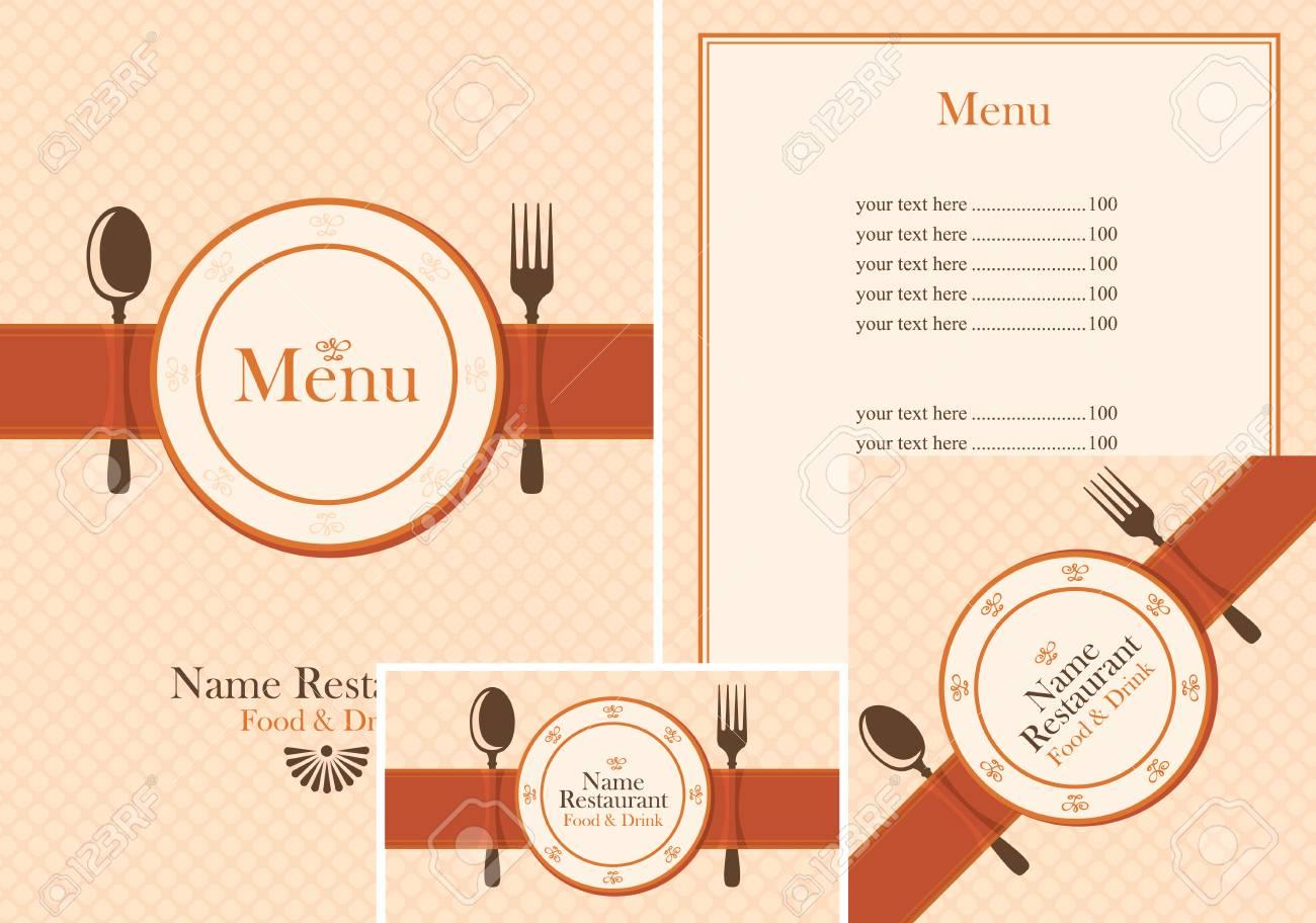 Set of design elements for a cafe or restaurant from the menu set of design elements for a cafe or restaurant from the menu price list reheart Choice Image
