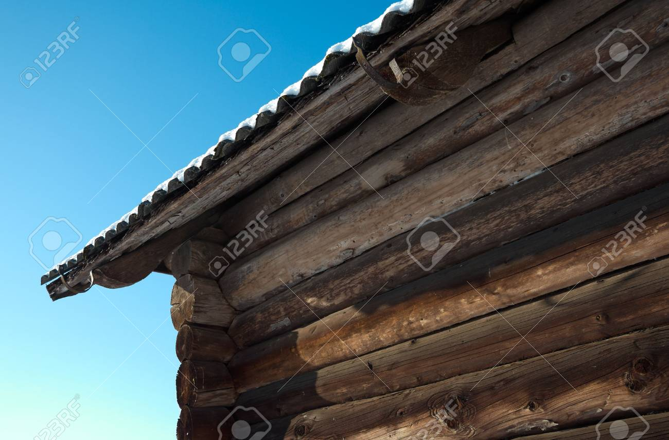 Slate roof of rural house Stock Photo - 6369321