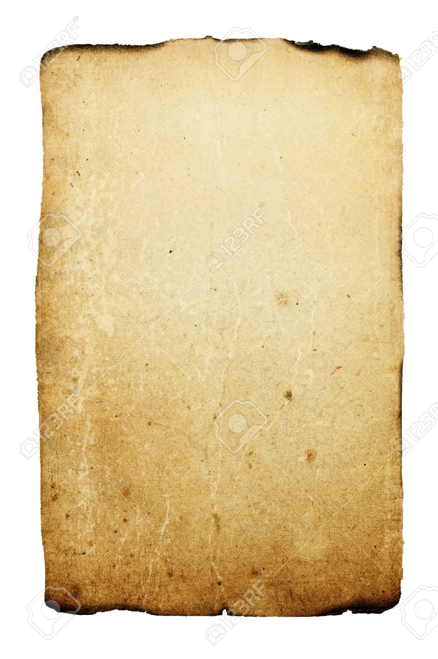 vintage burned paper background stock photo, picture and royalty