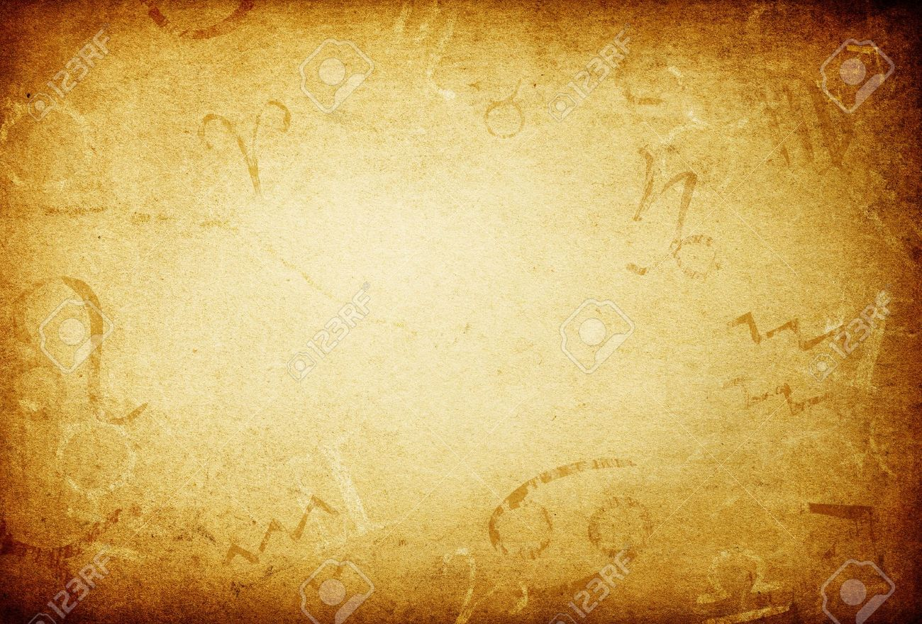 Texture Of Old Paper With Zodiac Signs Abstract Astrology Theme  Texture Of Old Paper With Zodiac Signs Abstract Astrology Theme Background Stock Photo Photo  Texture Of Old Paper With Zodiac Signs Abstract Astrology Theme Background