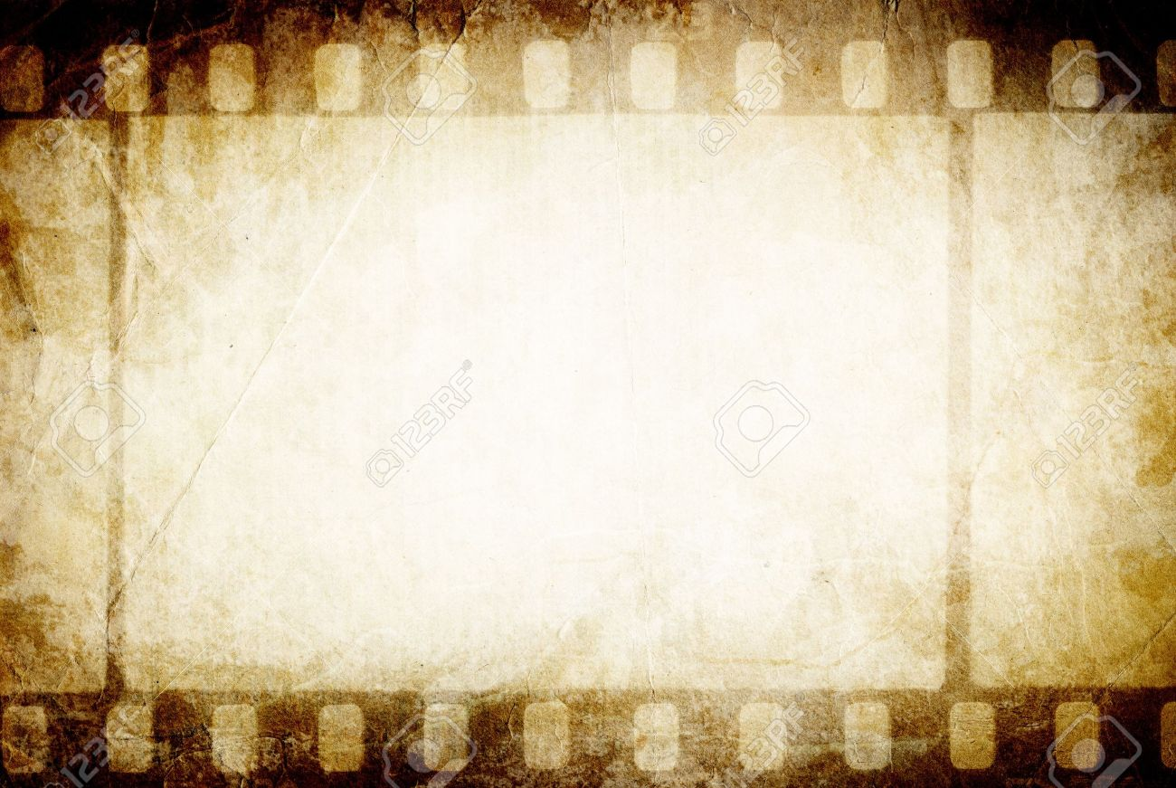 Old Filmstrip. Classic Vintage Background. Stock Photo, Picture ...