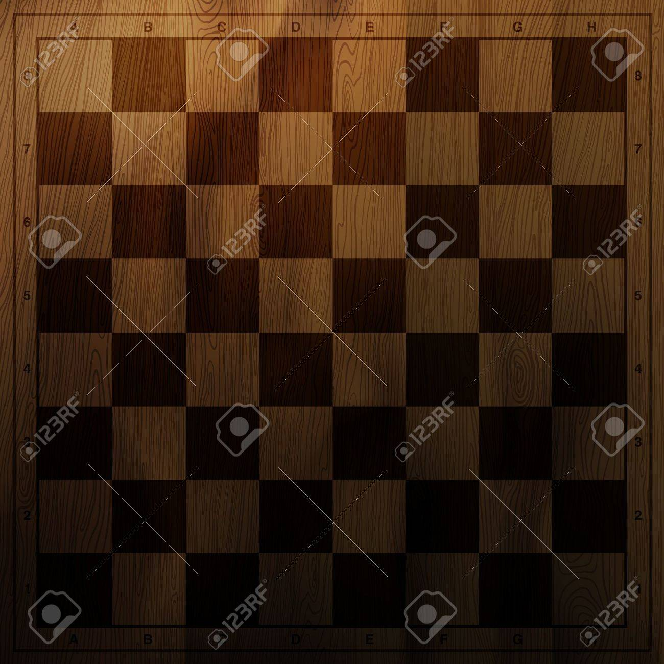 Vintage chess board background. Stock Vector - 12286080