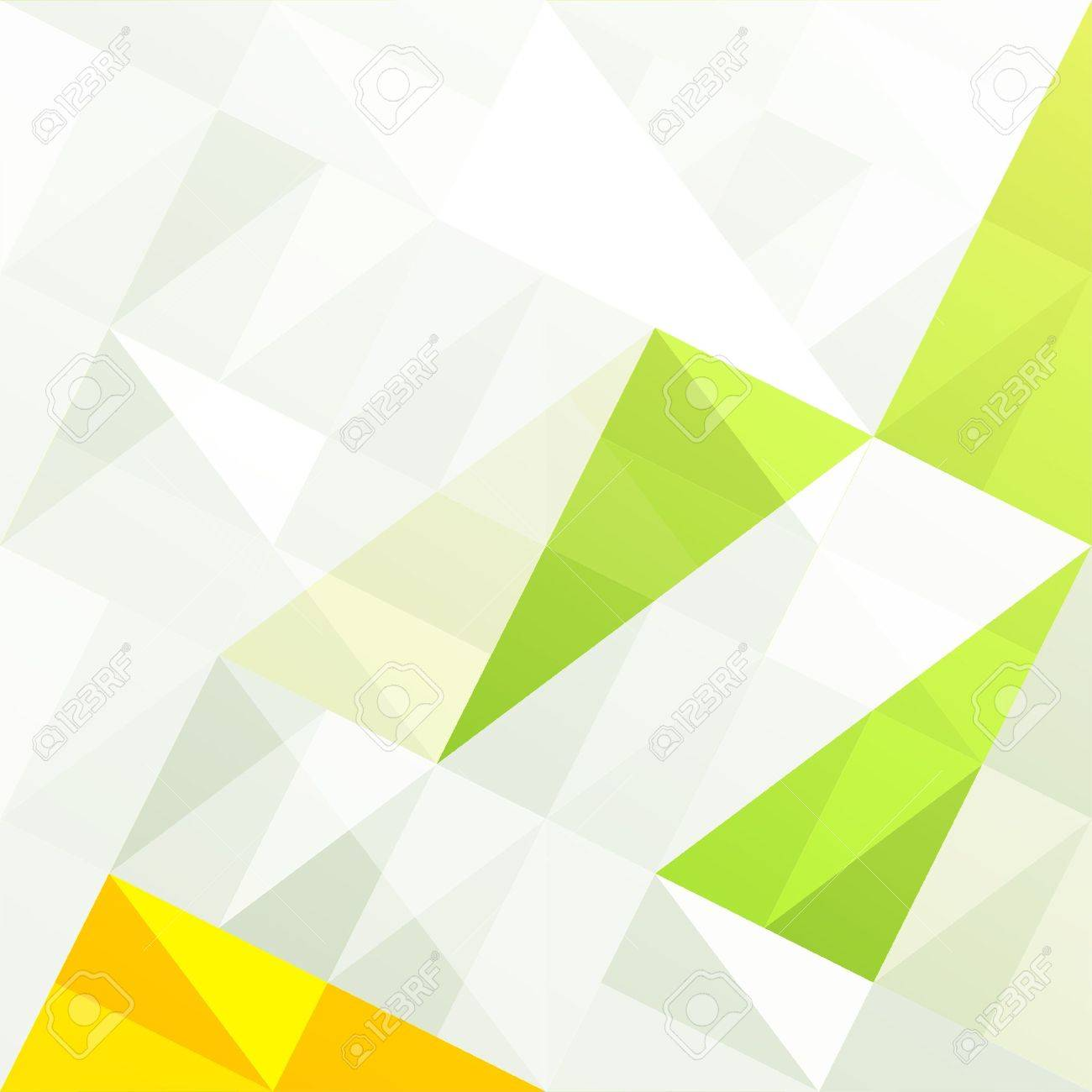 Green gamut geometric abstract background Stock Photo - 14707146