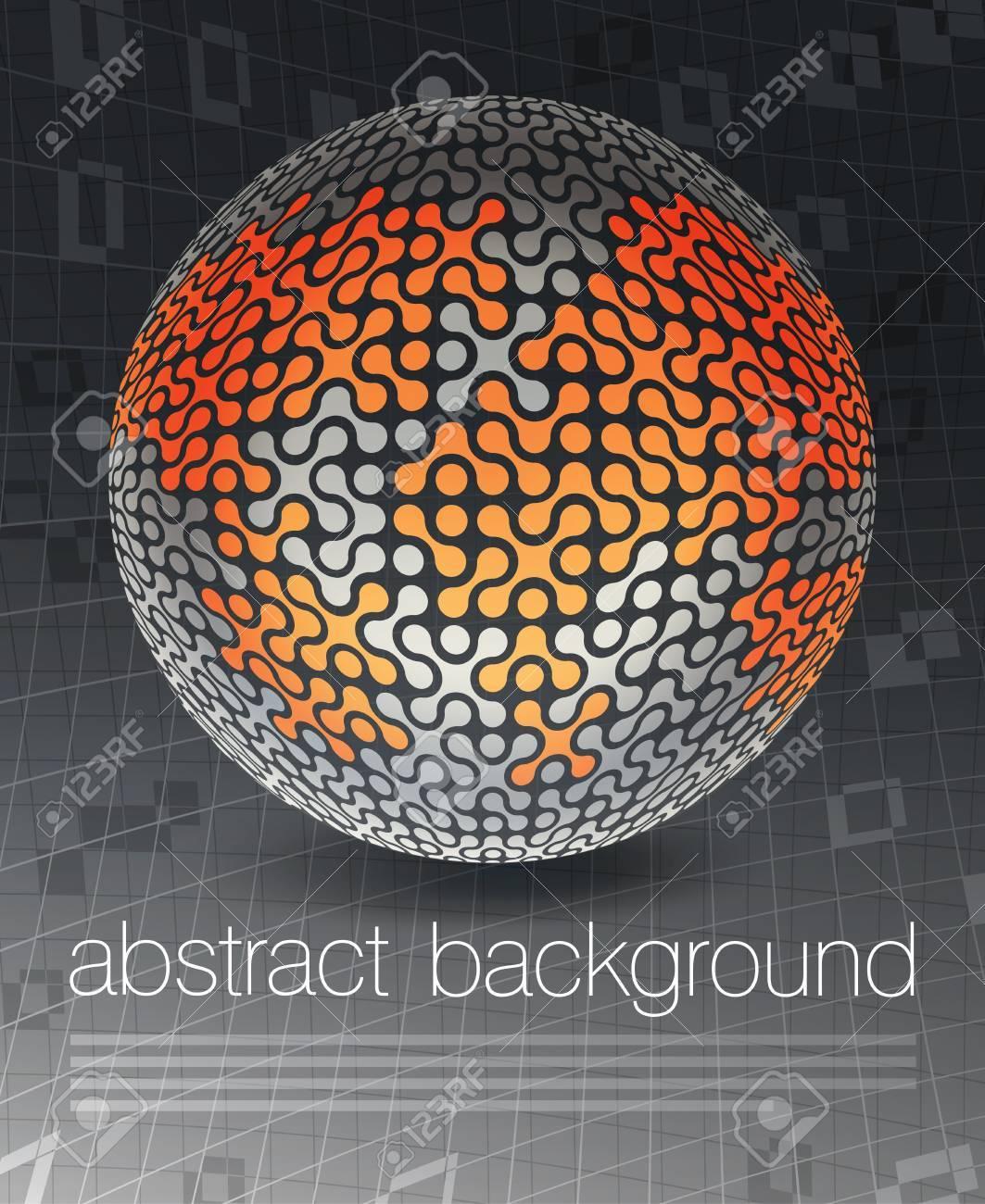 Global business concept poster design, vector illustration, EPS10 Stock Vector - 14895020