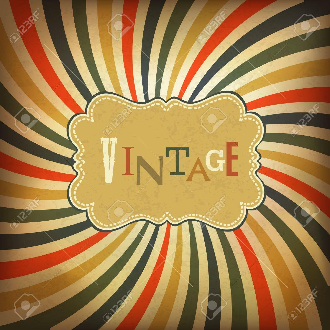 Grunge vintage background. Vector, EPS10 - 18586251