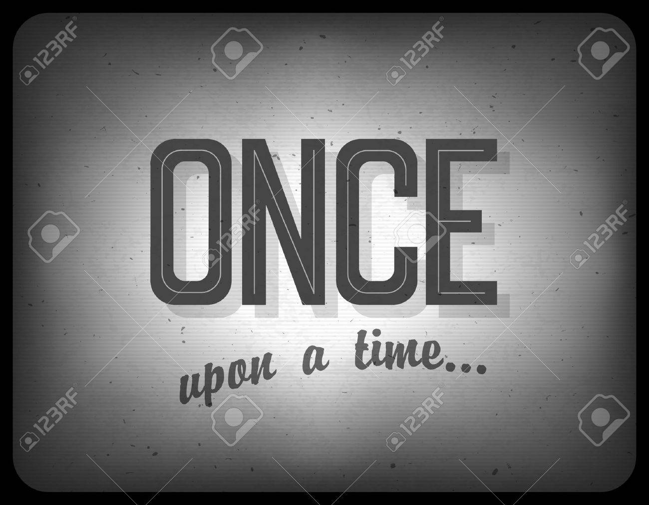 Old cinema phrase (once upon a time) - 19187095