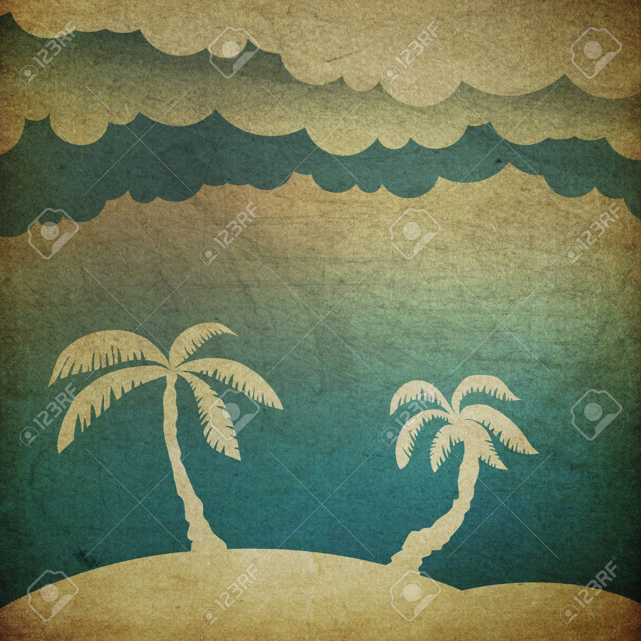 Summer travel concept background Stock Photo - 20145881