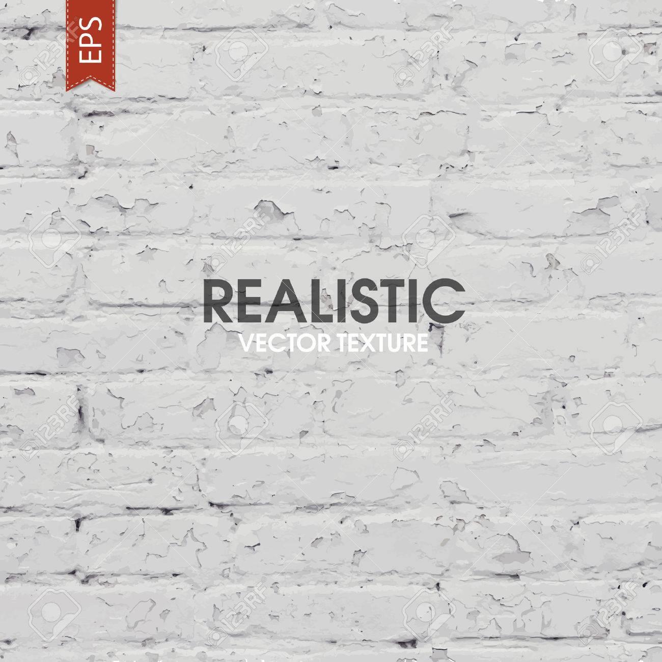 White brick traced texture - 34154366