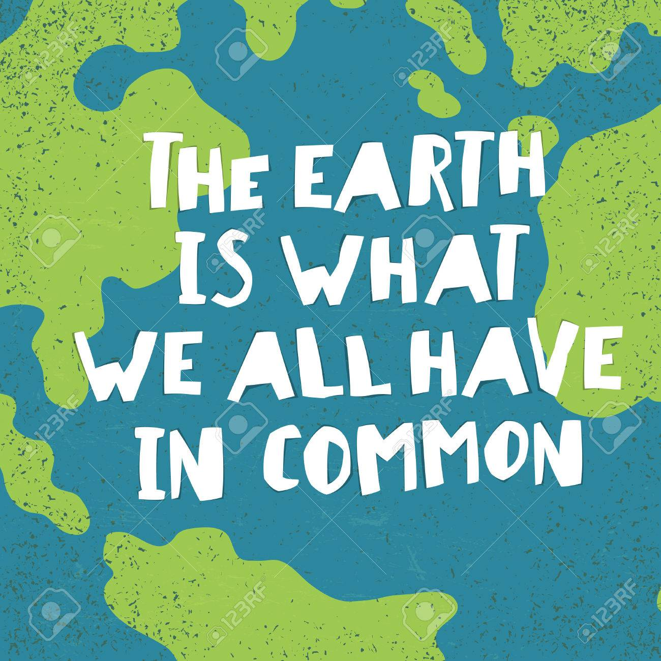 Earth day, 22 April - Paper cut letters and planet Royalty Free ...