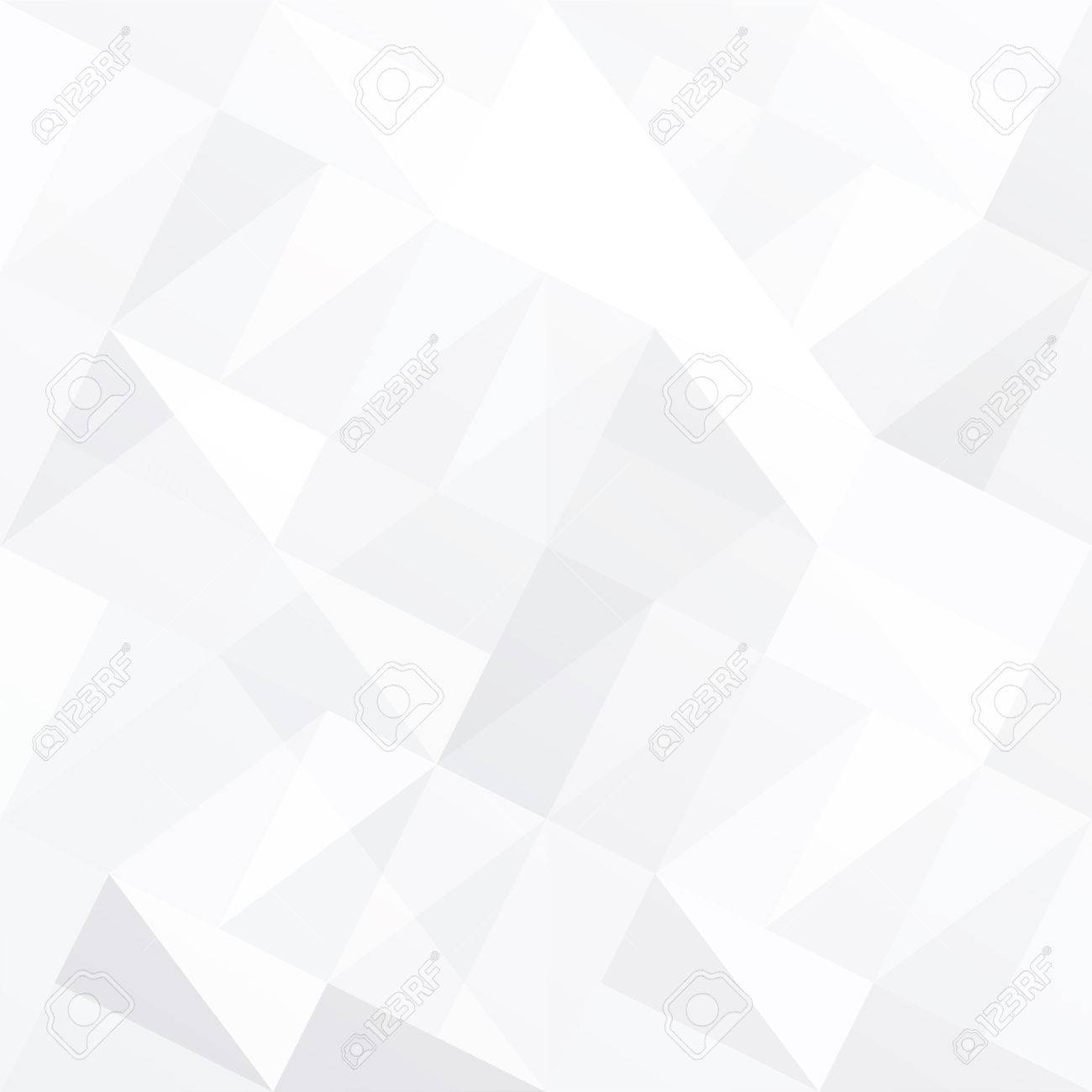 White triangle background abstract - 65257046