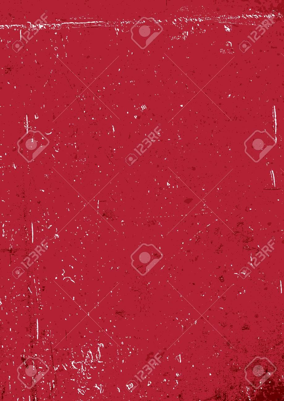 Fond Grunge Rouge Fond Blanc De Papier Rouge âgé Vertical Format