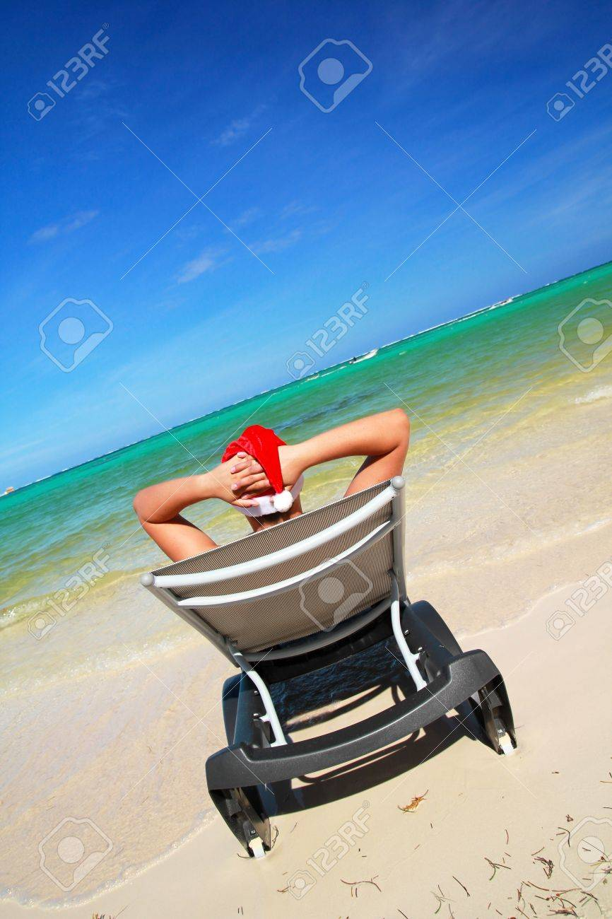 La Longue Chaise Père Des Caraïbes Sur Mer Noël IY7gvb6fy