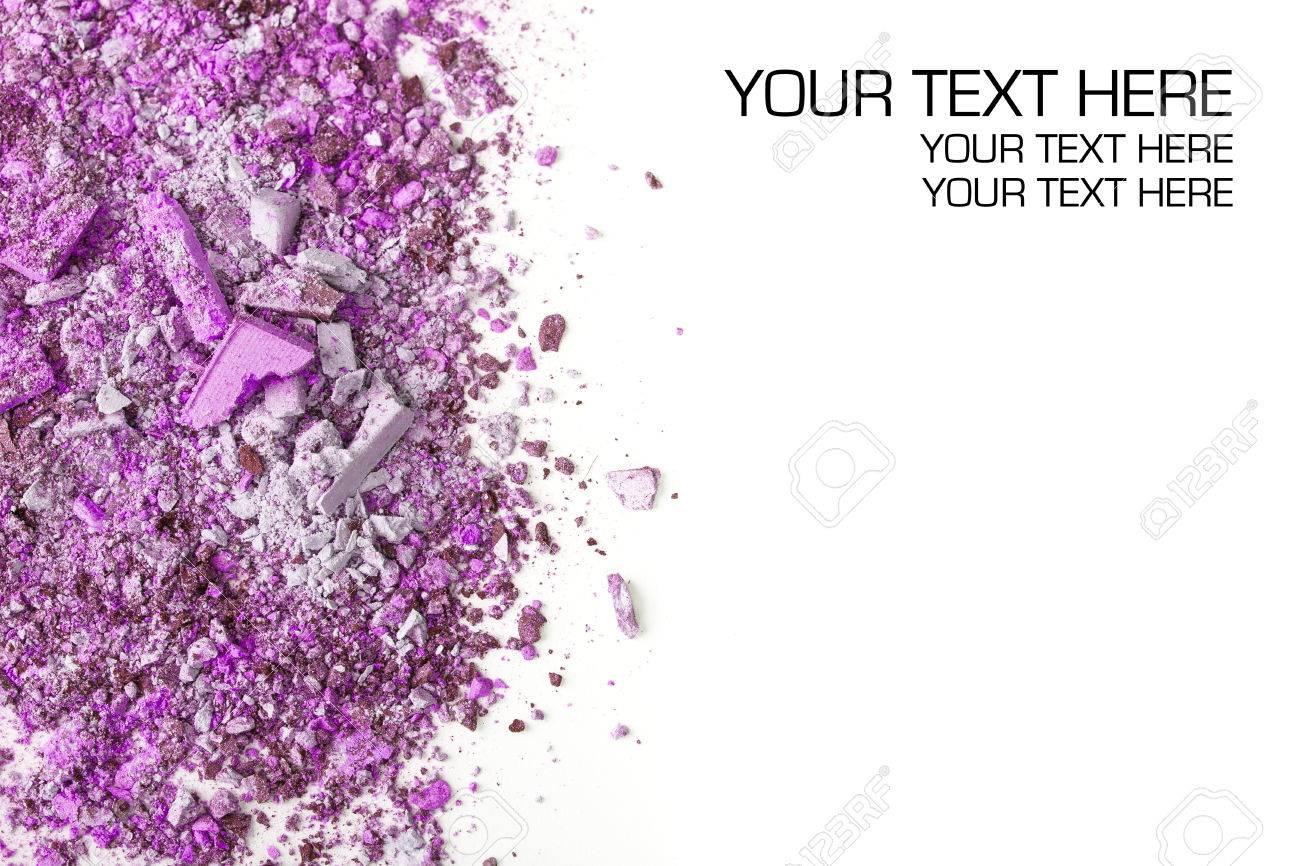 Crushed eyeshadows. Beauty concept Stock Photo - 22769067