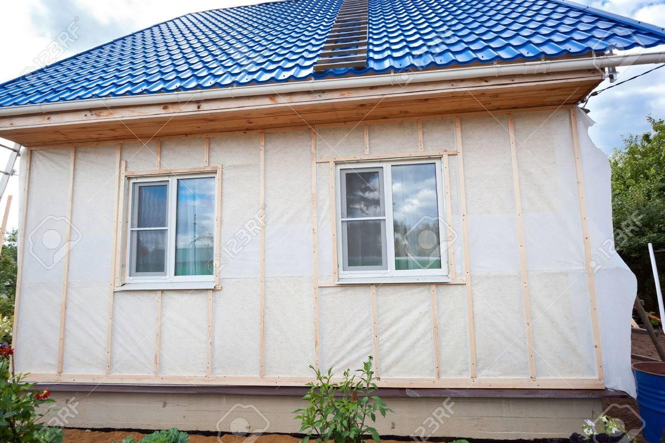 Утепление дома из бруса снаружи под сайдинг