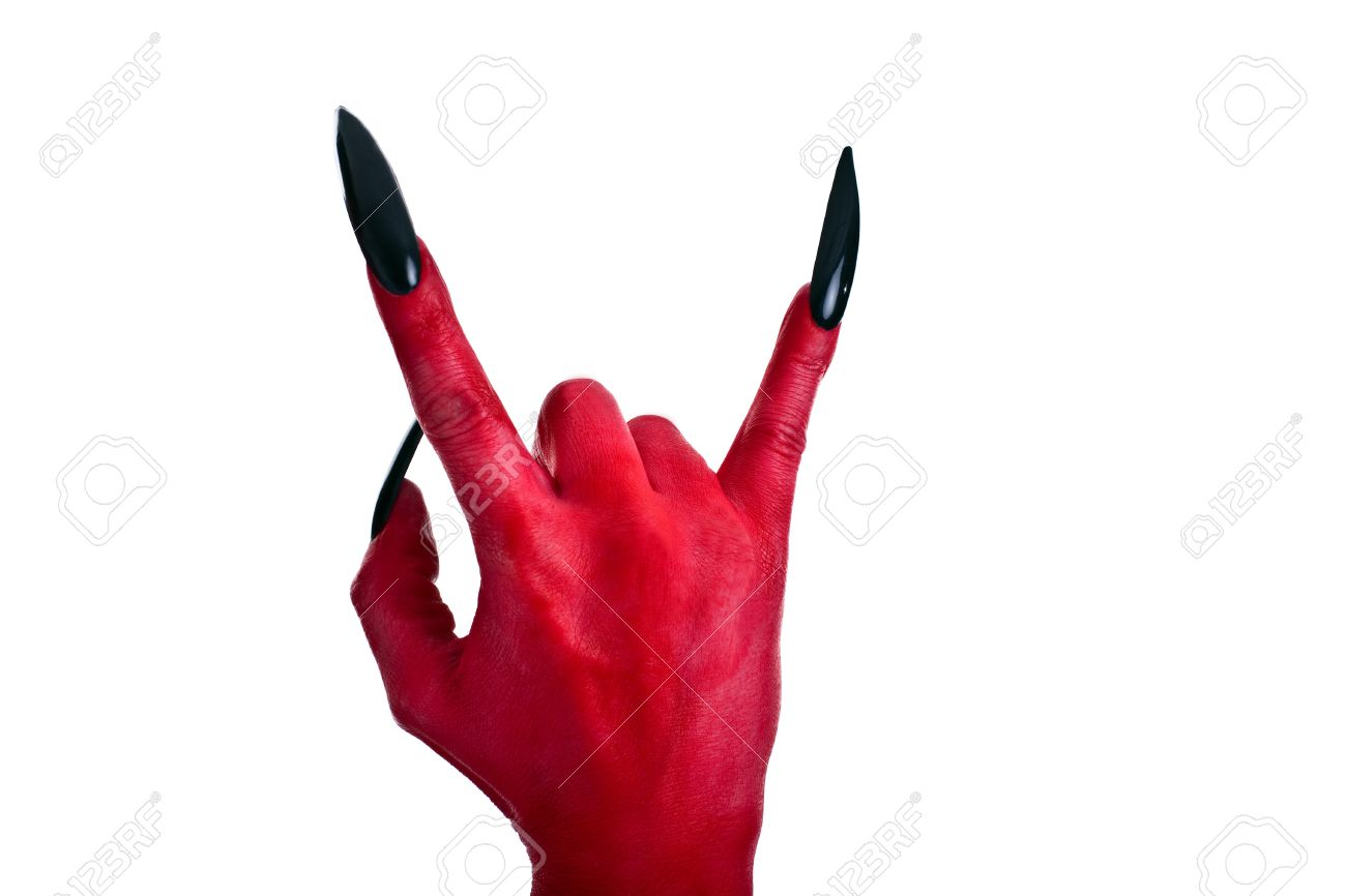 Image result for devil hand